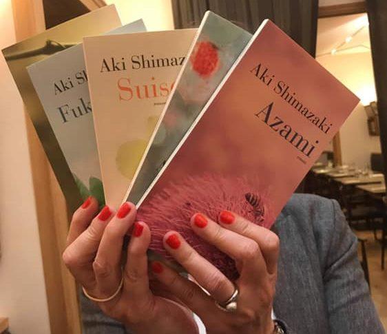 Couverture des livres d'Aki Shimazaki