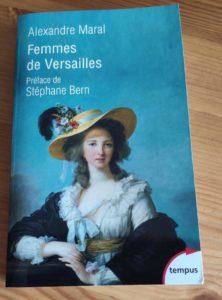 """Couverture du livre """"Femmes de Versailles"""""""
