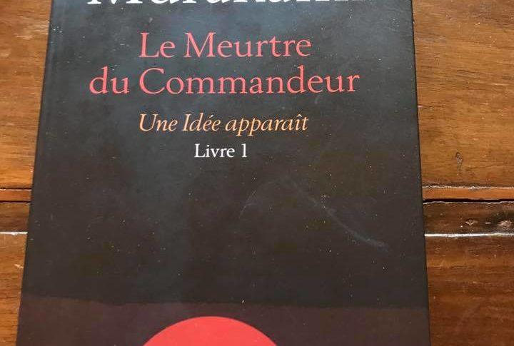"""Couverture du livre """"Meutre du Commandeur"""""""