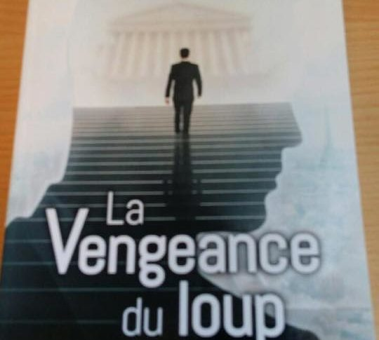 """Couverture du livre """"La vengeance du loup"""""""