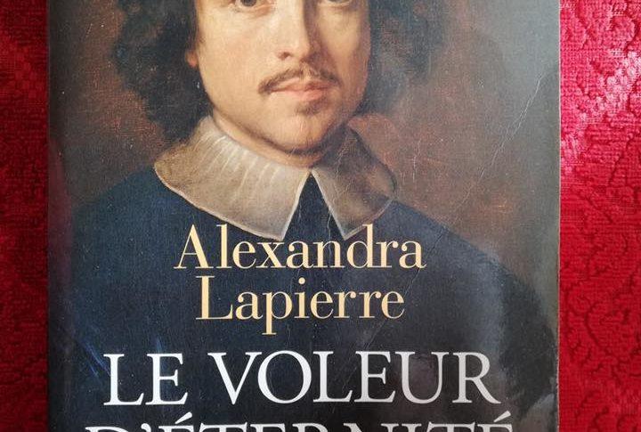 """Couverture du livre """"Le Voleur d'éternité"""""""