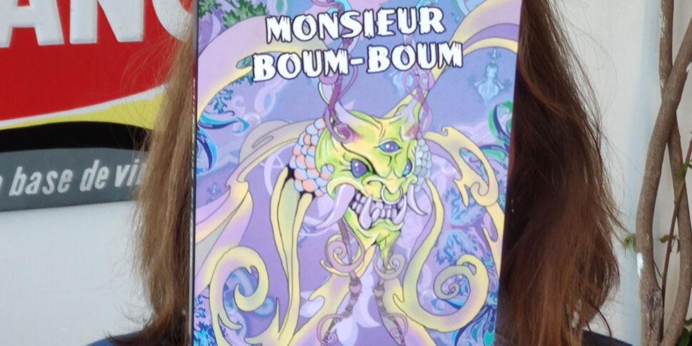 """Couverture du livre de """"Monsieur Boum Boum"""""""