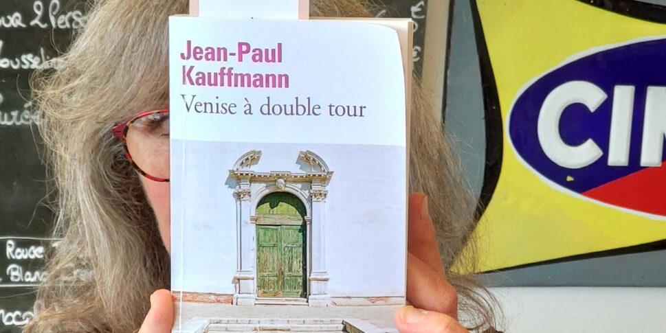 """Couverture du livre """"Venise à double tour"""""""