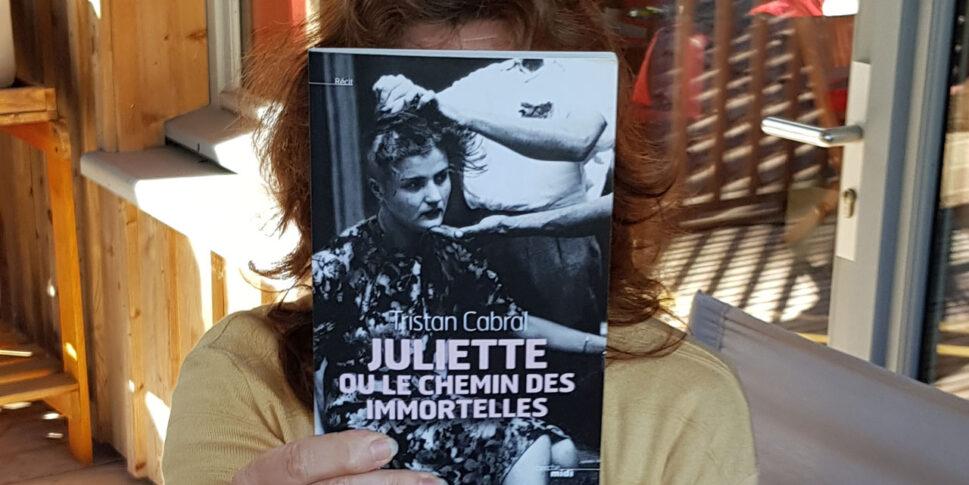 """Couverture du livre """"Juliette ou le chemin des immortelles"""""""