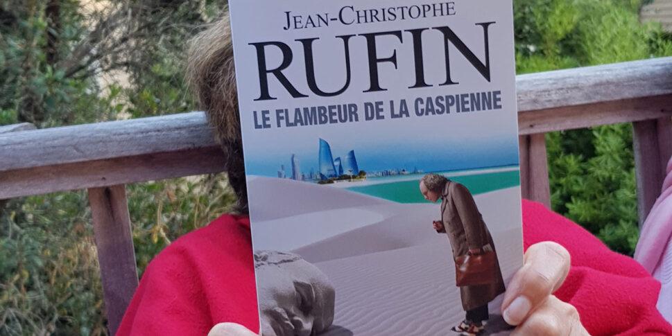"""Couverture du livre """"Le flambeur de la Caspienne"""""""