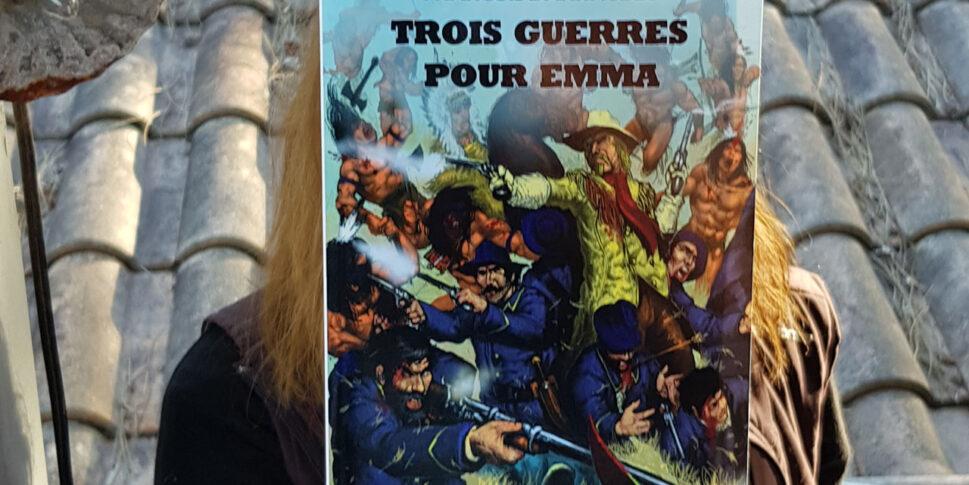 """Couverture du livre """"Trois guerres pour Emma"""""""