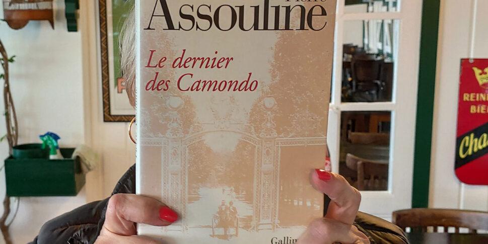 """Couverture du livre """"Le dernier des Camondo"""""""