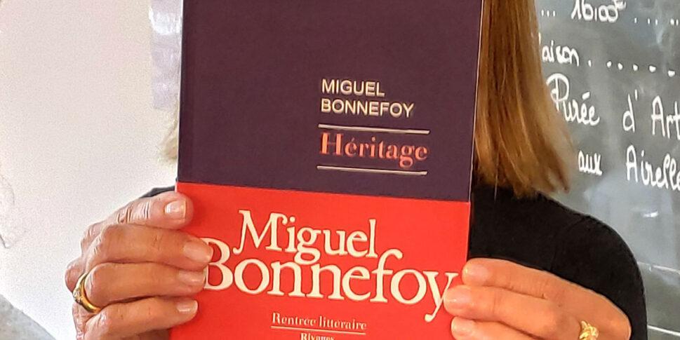 """Couverture du livre """"Héritage"""""""