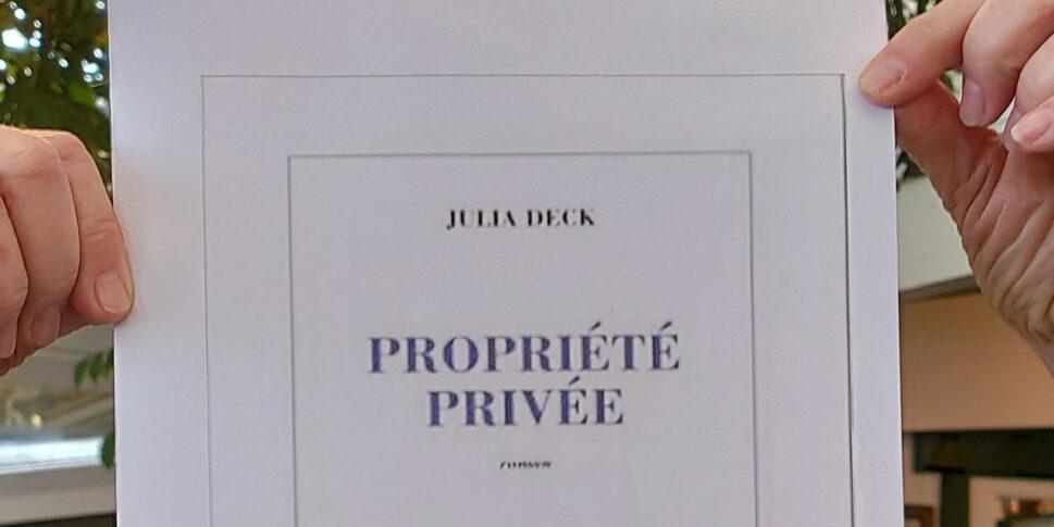 """Couverture du ivre """"Propriété Privée"""""""