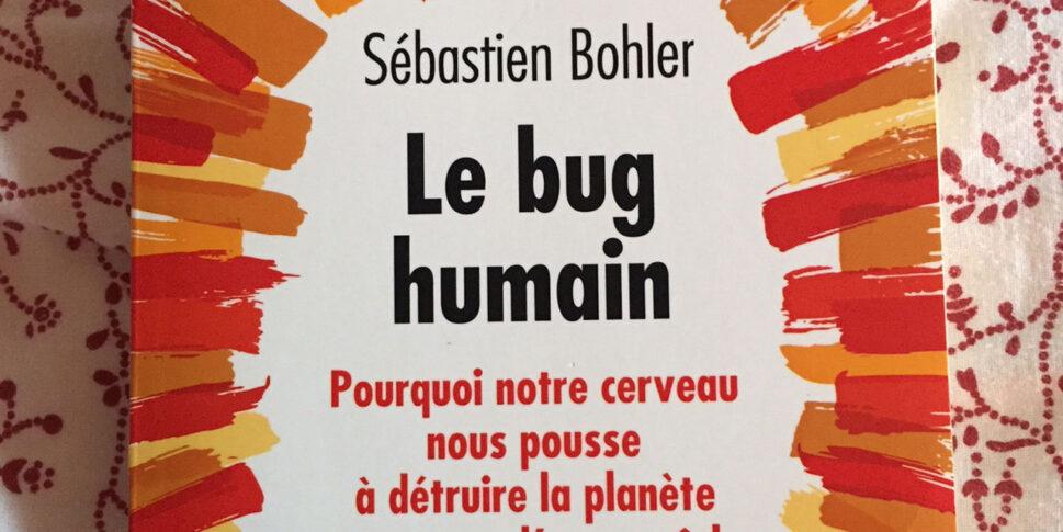 """Couverture du livre """" Le bug humain"""""""