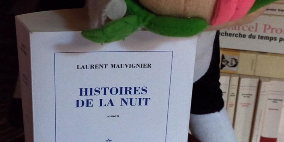 """Couverture du livre """"Histoires de la nuit"""""""