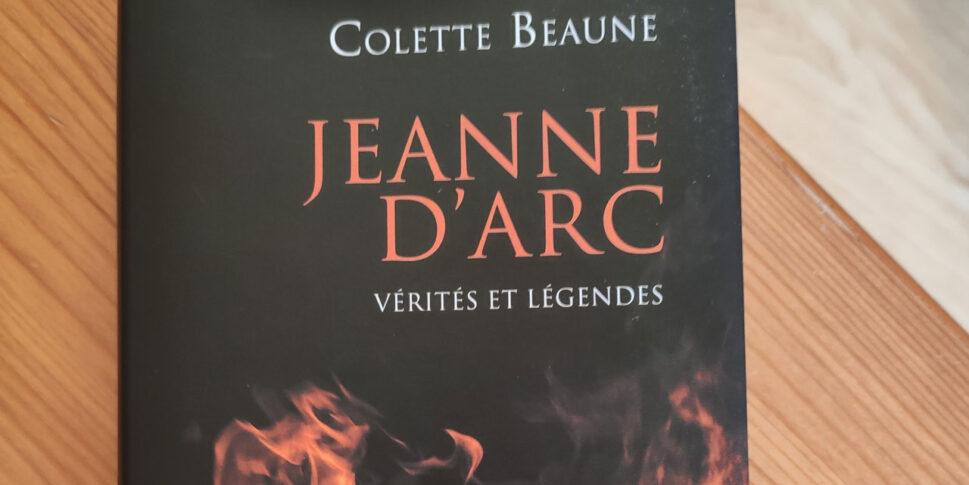 """Couverture du livre """"Jeanne d'Arc"""""""