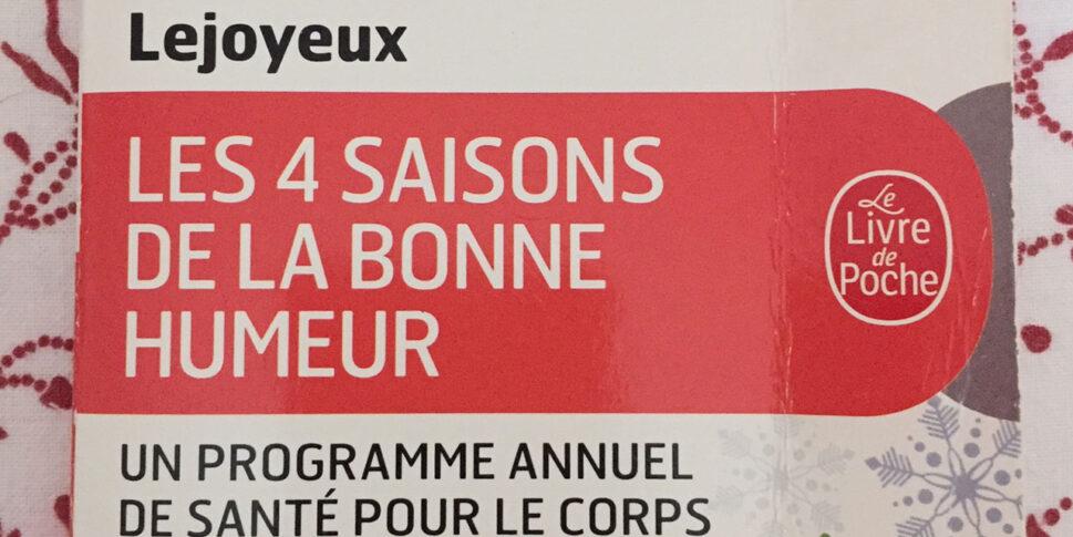 """Couverture du livre """"Les 4 Saisons de la Bonne Humeur"""""""