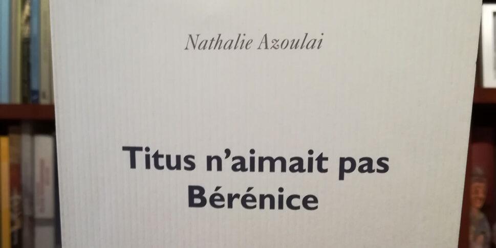 Couverture du livre Titus n'aimait pas Bérénice