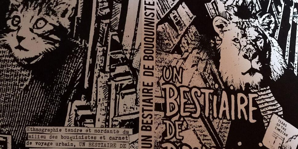 """Couverture du livre """"Un bestiaire de bouquinistes"""""""