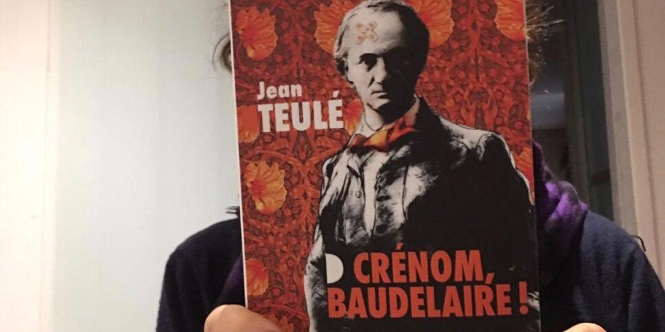 """Couverture du livre """"Crénom, Baudelaire"""""""