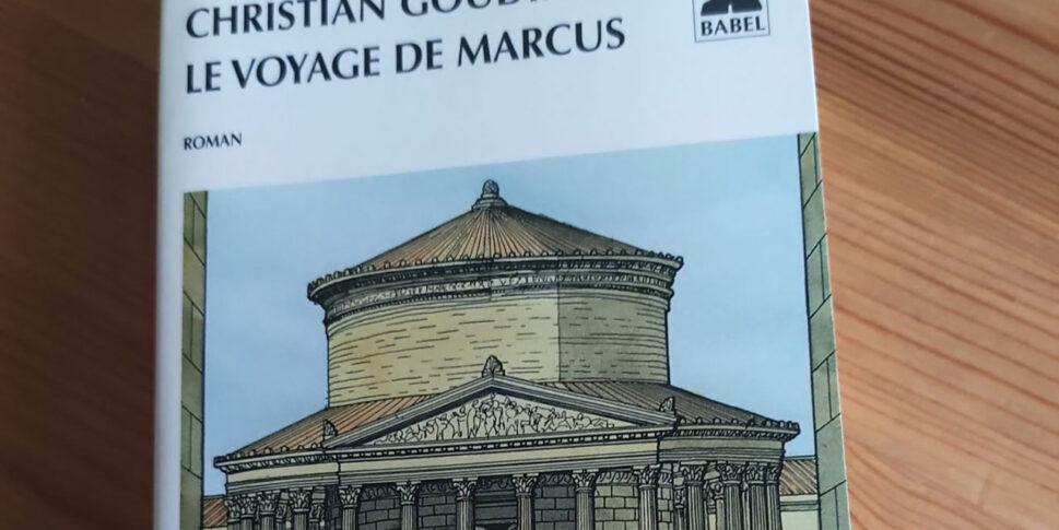 """Couverture du livre """"Le voyage de Marcus"""""""