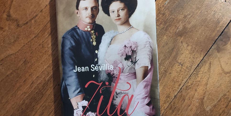 """Couverture du livre """"Zita Impératrice courage"""""""