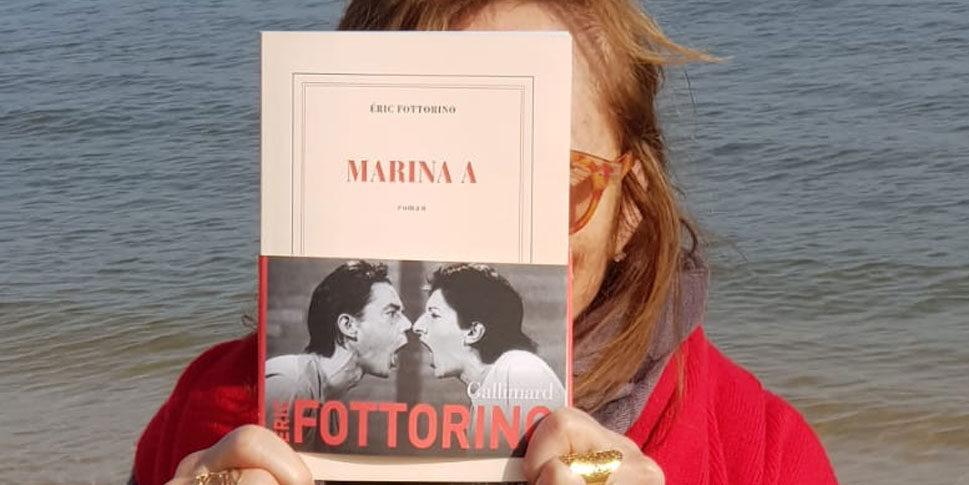 """Couverture du livre """"Marina A"""""""