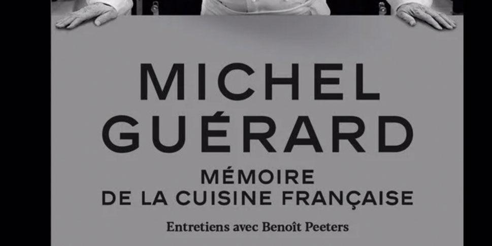 """Couverture du livre """"Mémoire de la cuisine Française"""""""