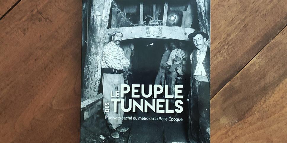 """Couverture du livre """"Le Peuple des tunnels"""""""