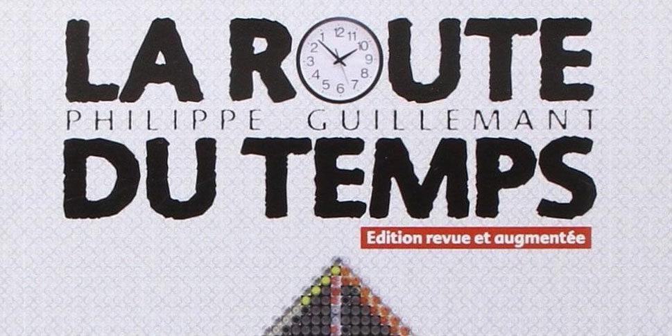 """Couverture du livre """"La route du temps"""""""