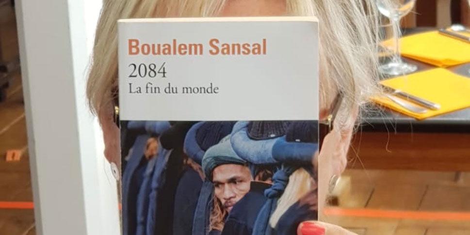 """Couverture du livre """"2084 La fin du monde"""""""