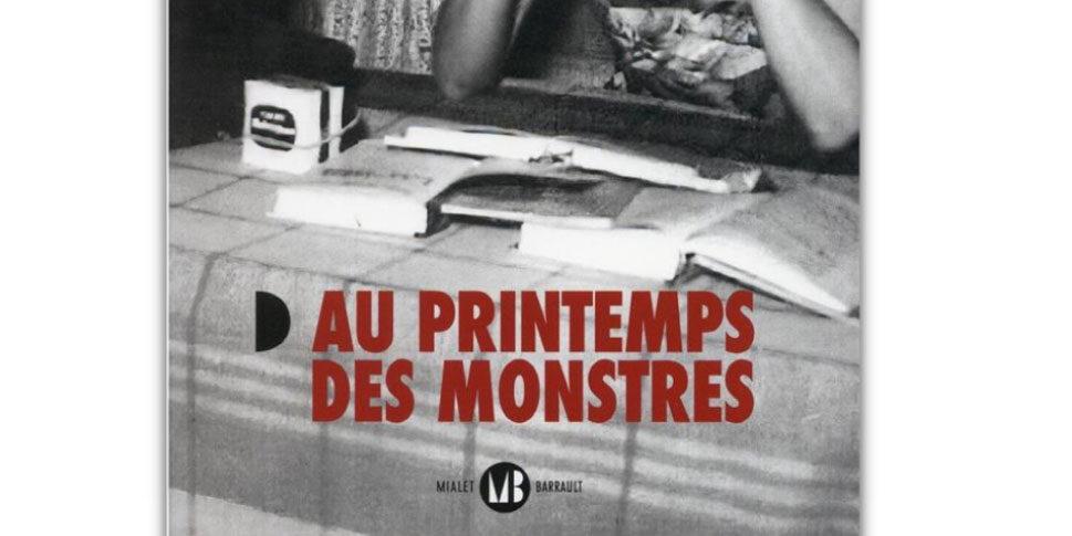 """Couverture du livre """"Au printemps des monstres"""""""