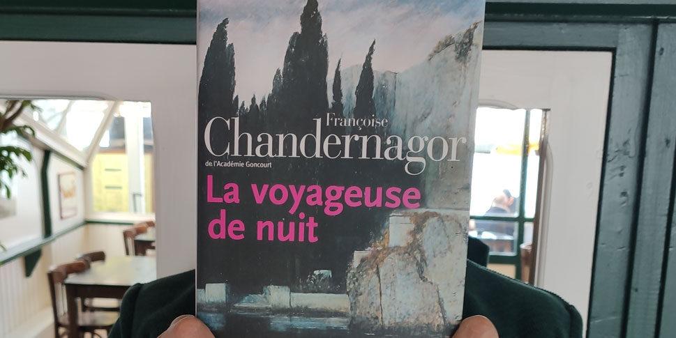 """Couverture du livre """"La voyageuse de nuit"""""""